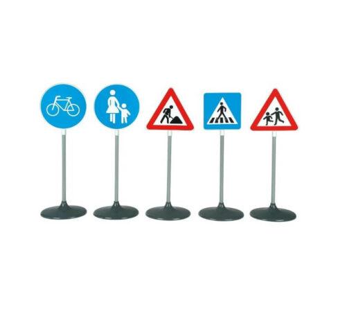Store trafikskilte børn