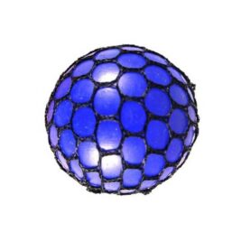 Blå mesh bold