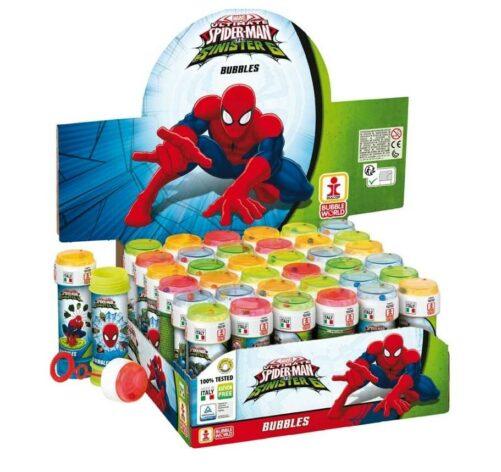 Spiderman sæbebobler