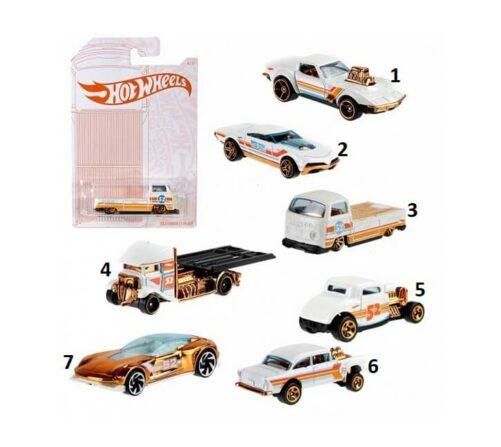 Hot Wheelsdie cast vehicles Pearl & Chrome