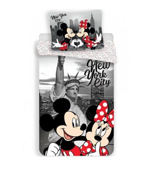 Minnie og Mickey Mouse Sengetøj