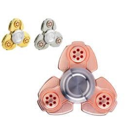 Rainbow fingertip fidget spinner metal